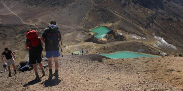 Tongariro Expeditions transport only options