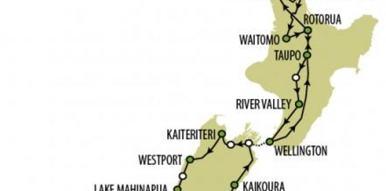 Kiwi Experience: Rangi pass (23 days minimum)
