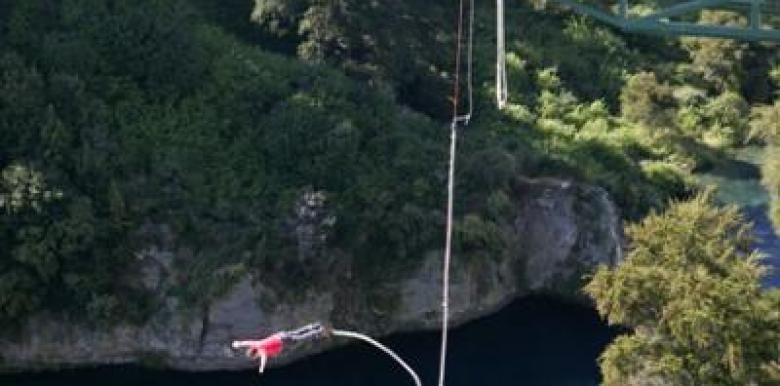 Taupo Bungy: Bungy Jump