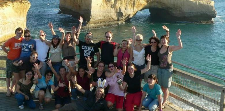 Groovy Grape: 3 day/2 night Great Ocean Road & Grampians Tour (Adelaide to Melbourne) (GRGG)