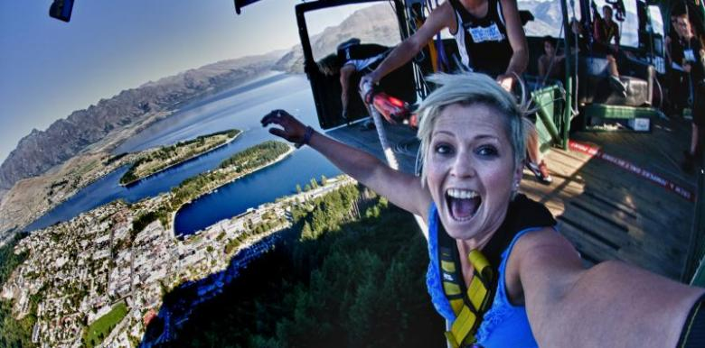 AJ Hackett Bungy: Ledge Bungy Queenstown