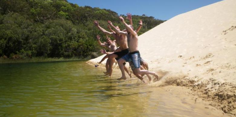 Cool Dingo Tours: 3 day/2 night ex Rainbow Beach returns to Rainbow Beach