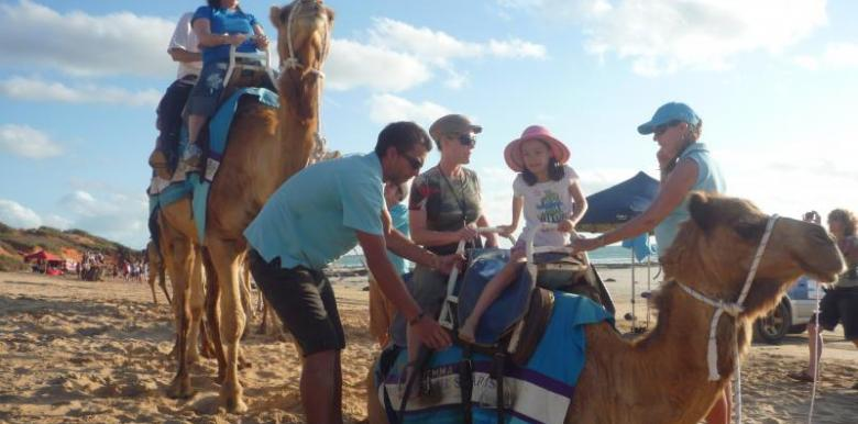 Broome Camel Safaris: Pre-Sunset Tour