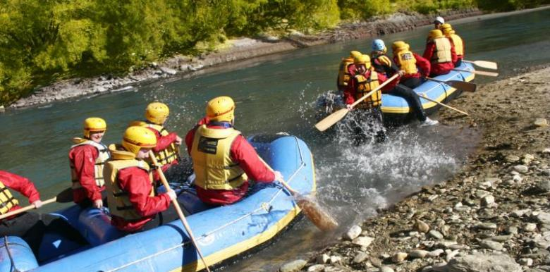Challenge Rafting: Queenstown Combos Shotover River
