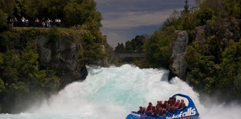 Hukafalls Jet: 30min Jetboat Ride